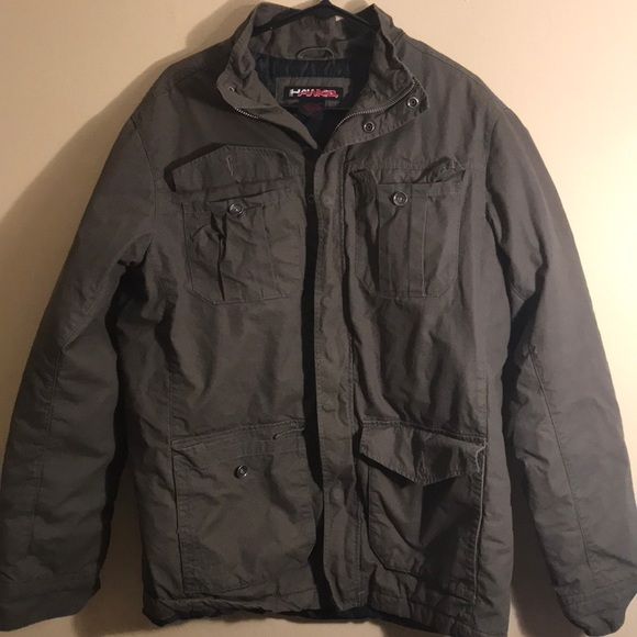 Green Hawk brand coat